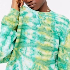 UO Urban Renewal Burst Tie Dye Sweater